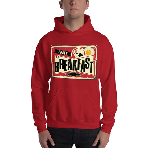 Poker For Breakfast Hoodie