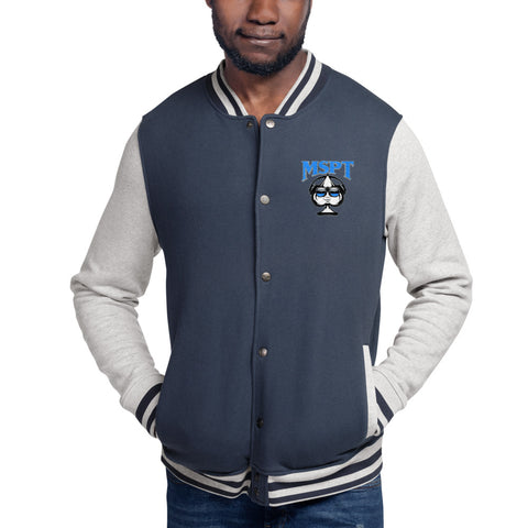MSPT Embroidered Champion Bomber Jacket