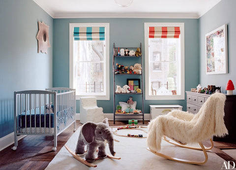 Nursery of Laure Heriard Dubreuil and Aaron Young | Architectural Digest