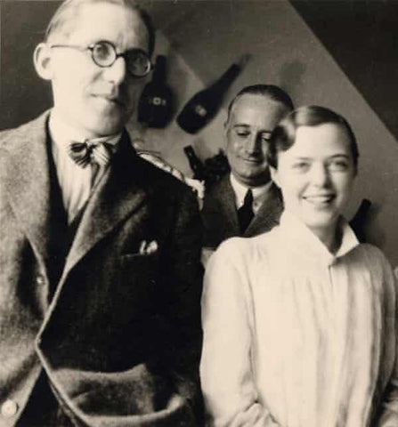 Perriand with Le Corbusier in 1928. Photograph: Pierre Jeanneret/AChP