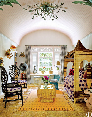 Children's room of interior designer Celerie Kemble | Architectural Digest