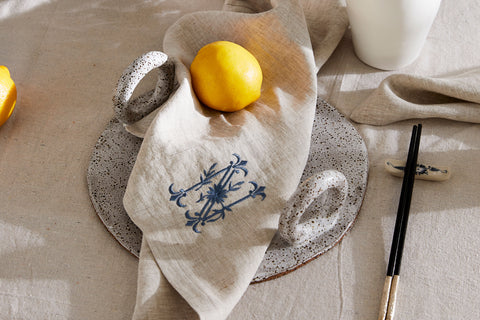 PHILE Australia Monogrammed Table Linen Napkin