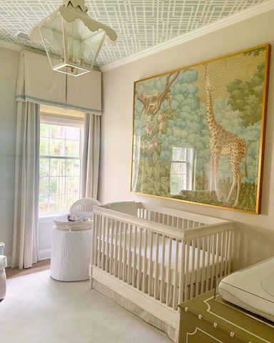 Nursery room by Kate Gibson Interiors | Image from Instagram