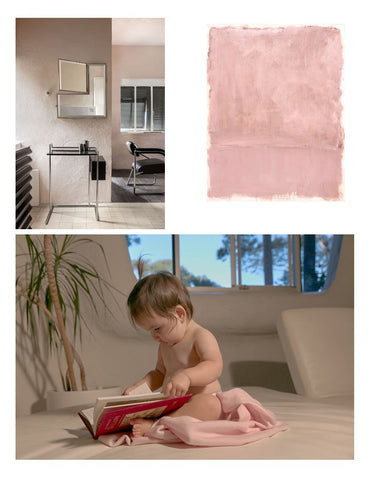 Pink Cashmere Baby Blanket Personalised | PHILE Australia
