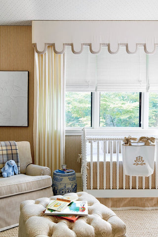 Decorator Allison Allen's Nursery | Image courtesy of katieconsiders.com