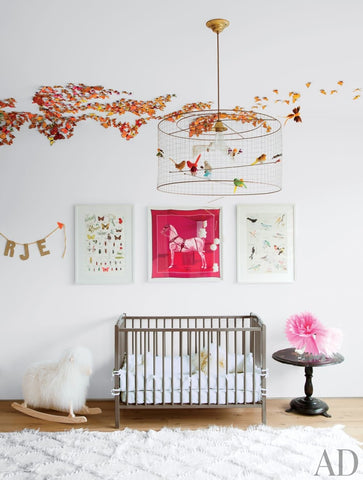 Nursery of Jenni Kayne | Image by Architectural Digest