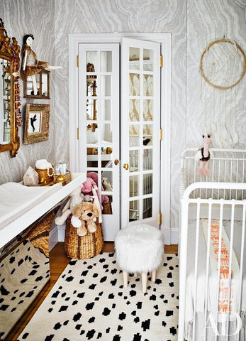 Nursery room of Nate Berkus and Jeremiah Brent | Architectural Digest