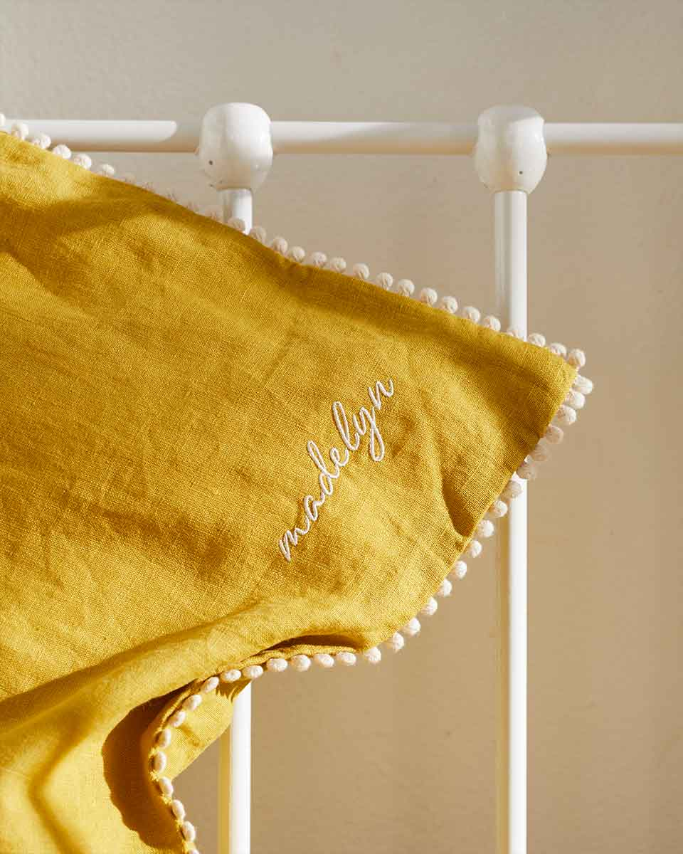Mustard Children's Bedding Set