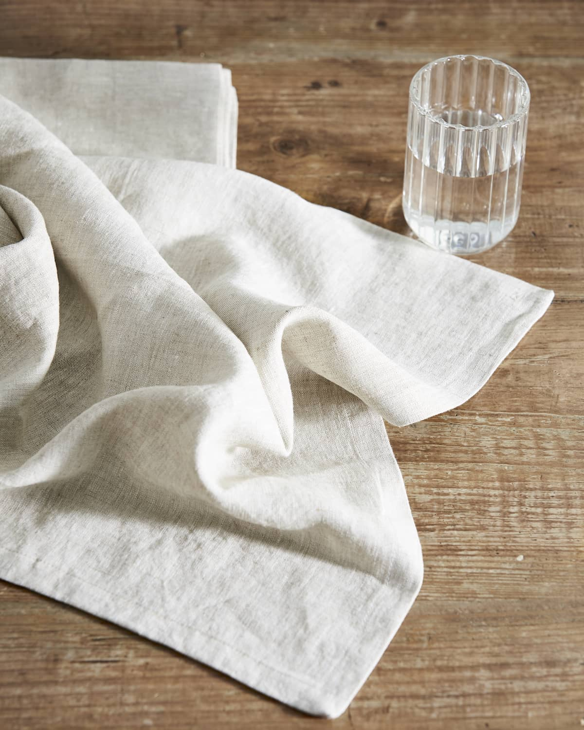 Natural Linen Napkin - set of 4