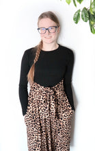 Load image into Gallery viewer, Black Leopard Mila Dress