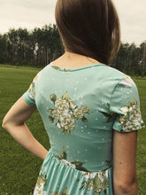 Load image into Gallery viewer, Mint Camilla Dress