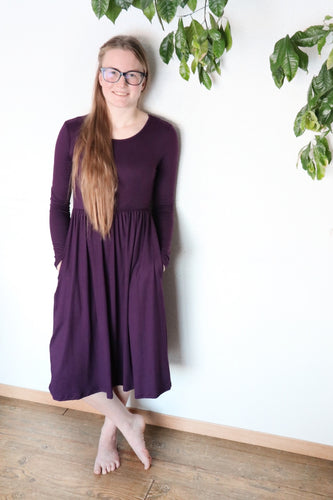 Plum Heather Dress