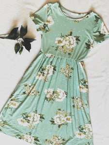 Mint Camilla Dress