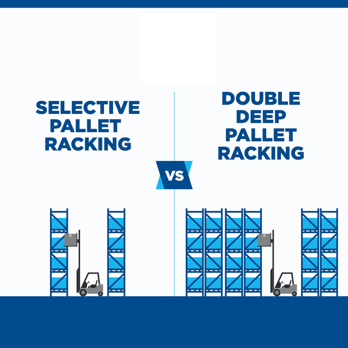 Selective Pallet Racking vs Double Deep Pallet Racking