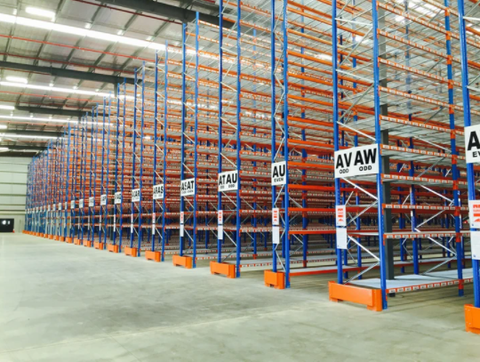 Racking storage systems