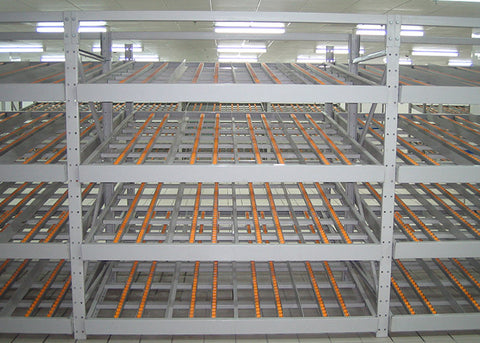 Carton Live Storage Pallet Racking