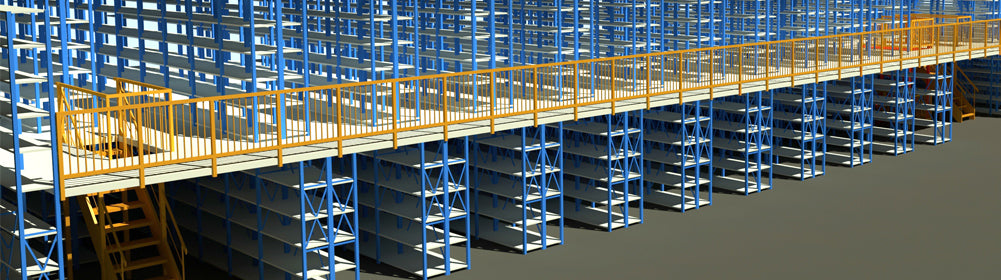Mezzanine Shelving racking warehouse