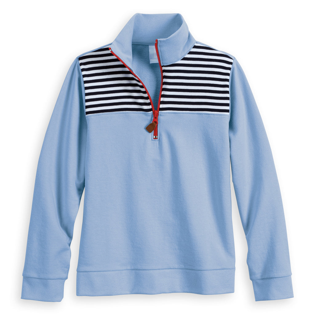 Colorblock Half Zip (4488665792592)