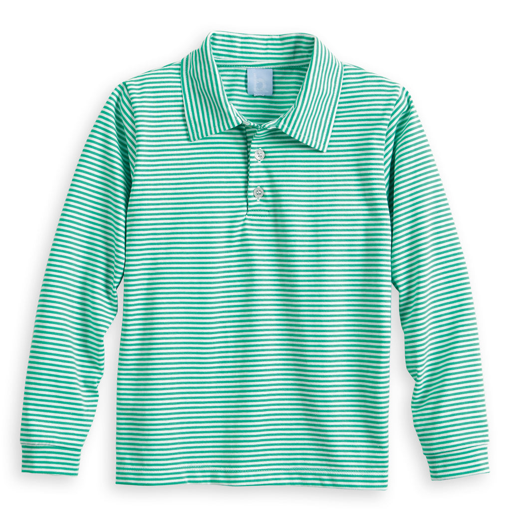 Striped Polo Tee (4487982973008)