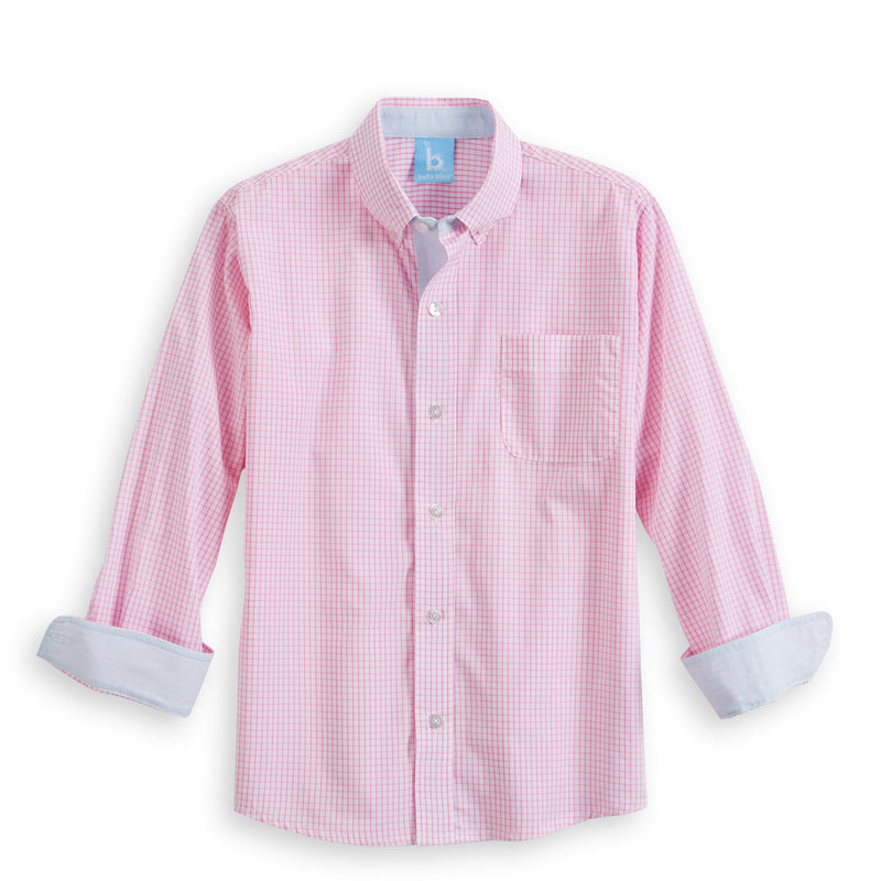 Contrast Trim Buttondown Shirt