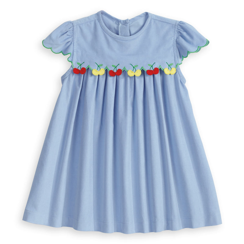 Dress with Applique Cherries (4464705077328)