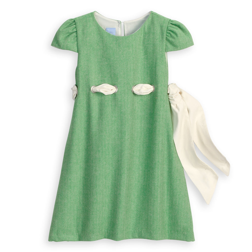 Wool Dress with Grommets (4479740018768)