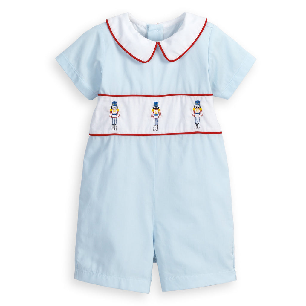 Embroidered Nutcracker Romper (4477807296592)