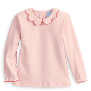 Long Sleeve Pima Scallop Collar Tee (4479767937104)