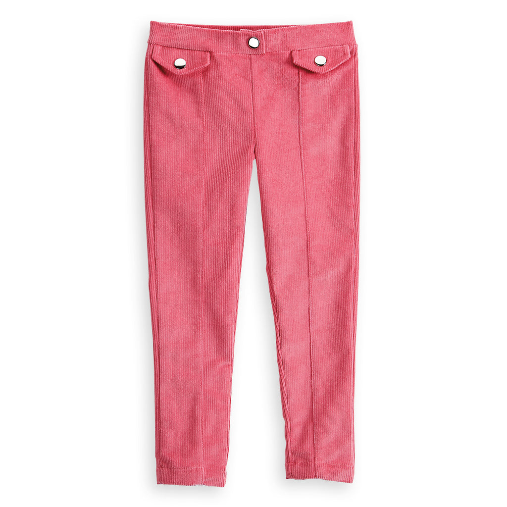 Berry Front Pocket Corduroy Jegging