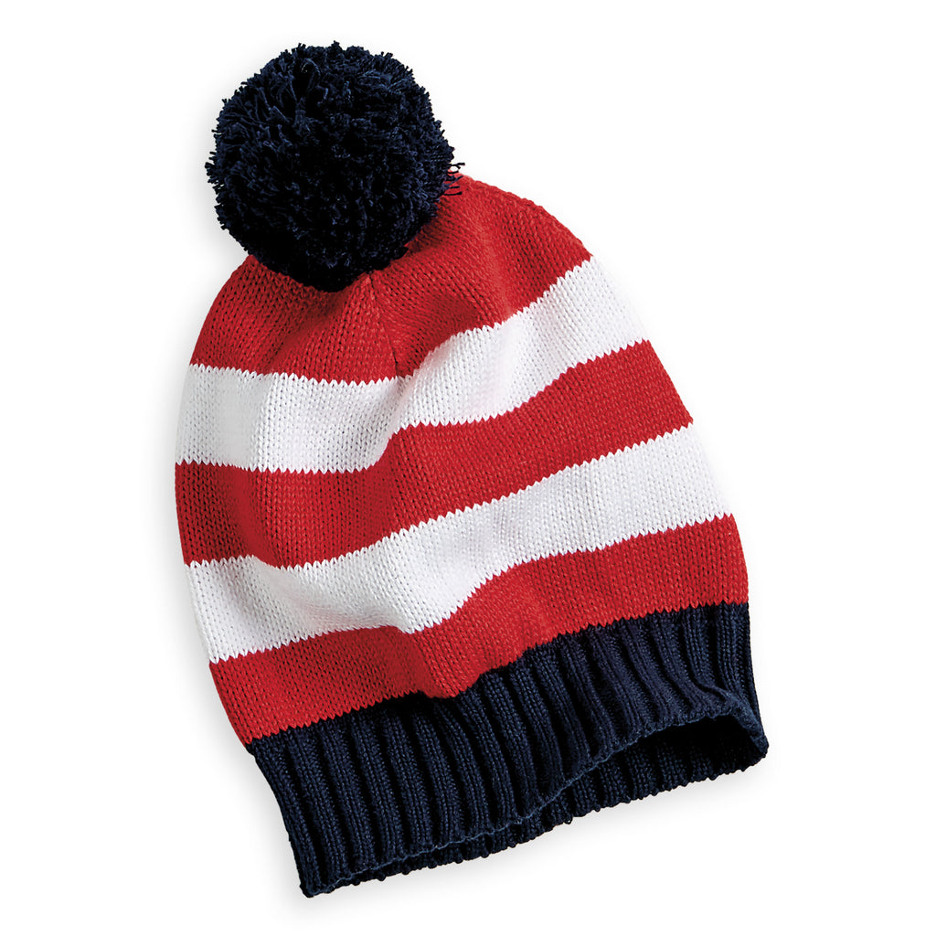 Striped Knit Hat (4492963840080)