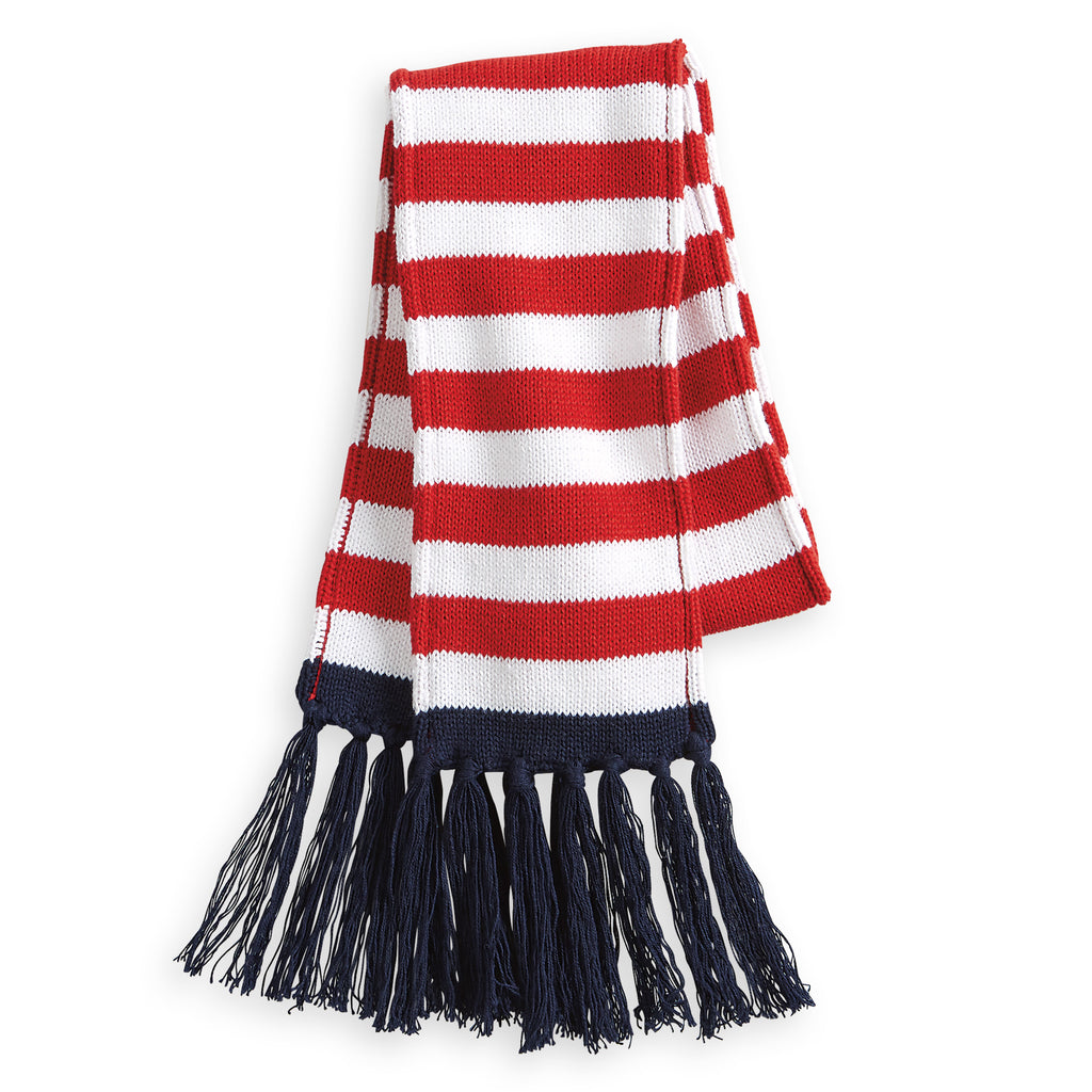 Striped Knit Scarf (4492964823120)