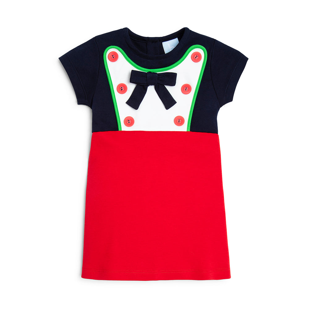 Colorblock Jersey Dress (4477640474704)