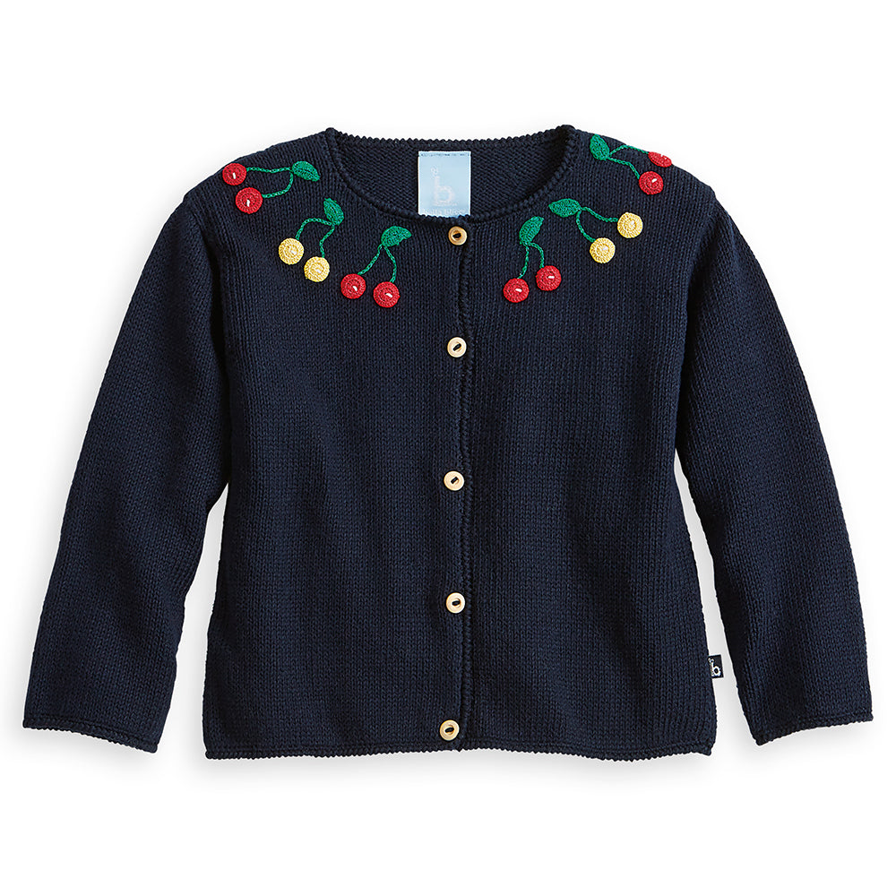 Applique Cherry Cardigan (4490384048208)