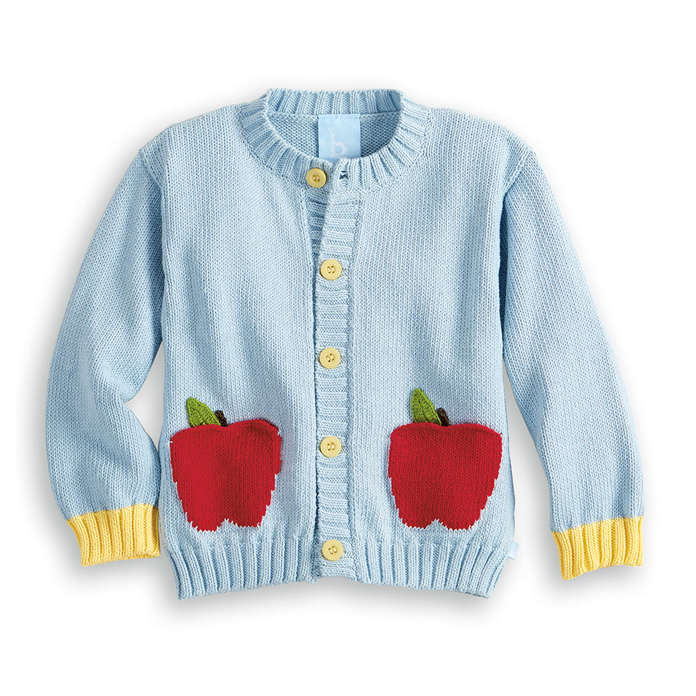 Apple Pocket Cardigan (4490258710608)