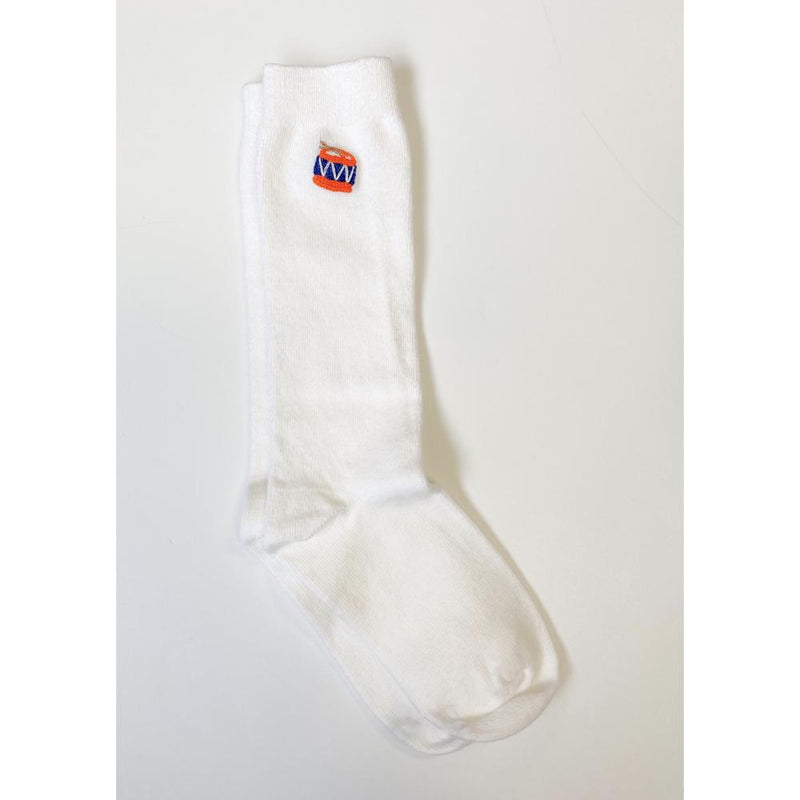 Embroidered Knee Sock (4490393190480)