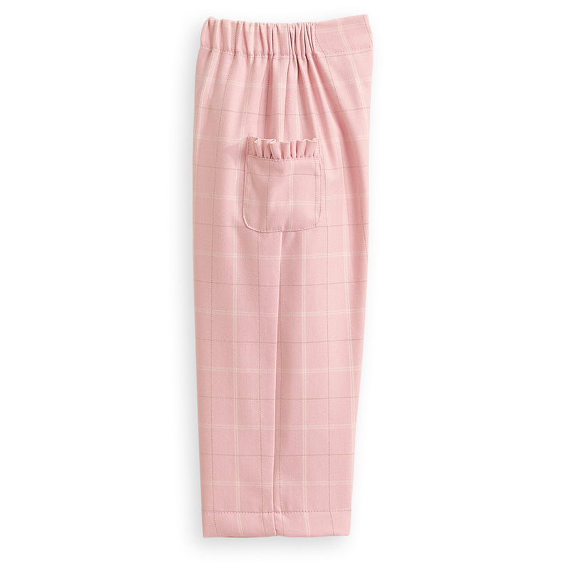 Holiday Ruffled Straight Leg Pant
