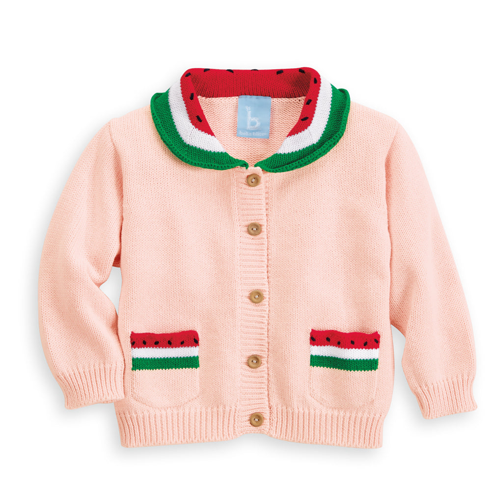 Vintage Watermelon Cardigan (4177015406672)