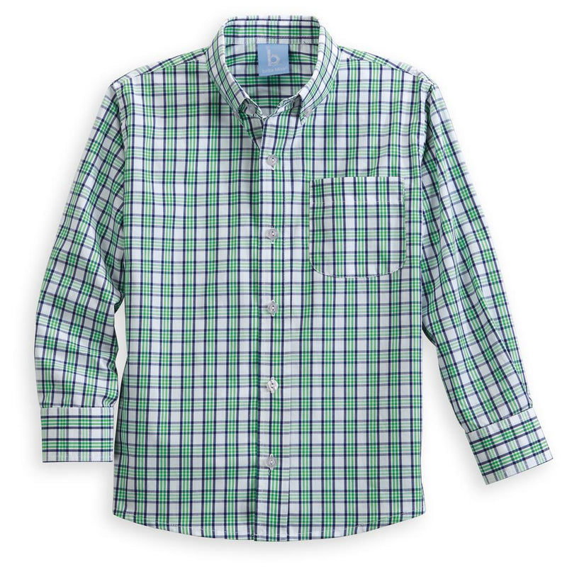 Plaid Buttondown Shirt