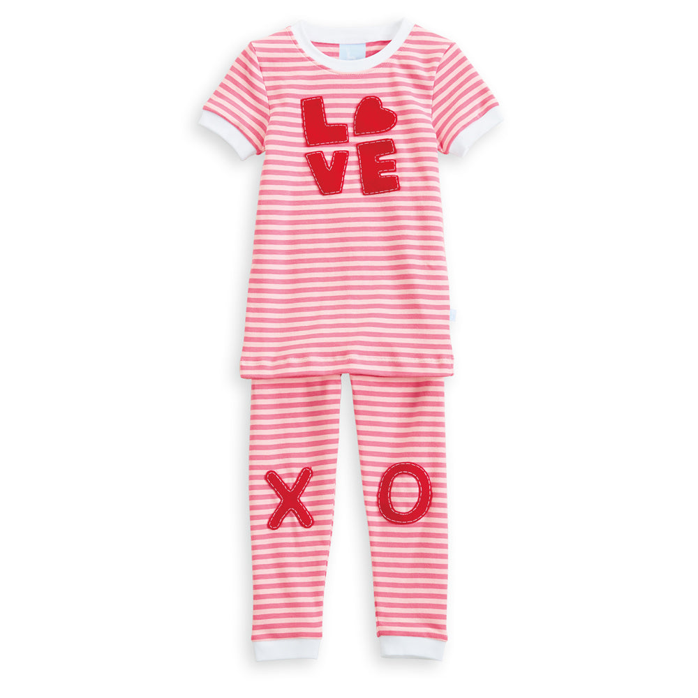 Applique Love Pima Jammies (4175150973008)