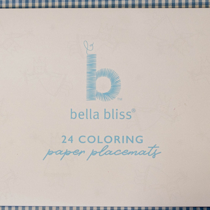Bliss Paper Coloring Placemats