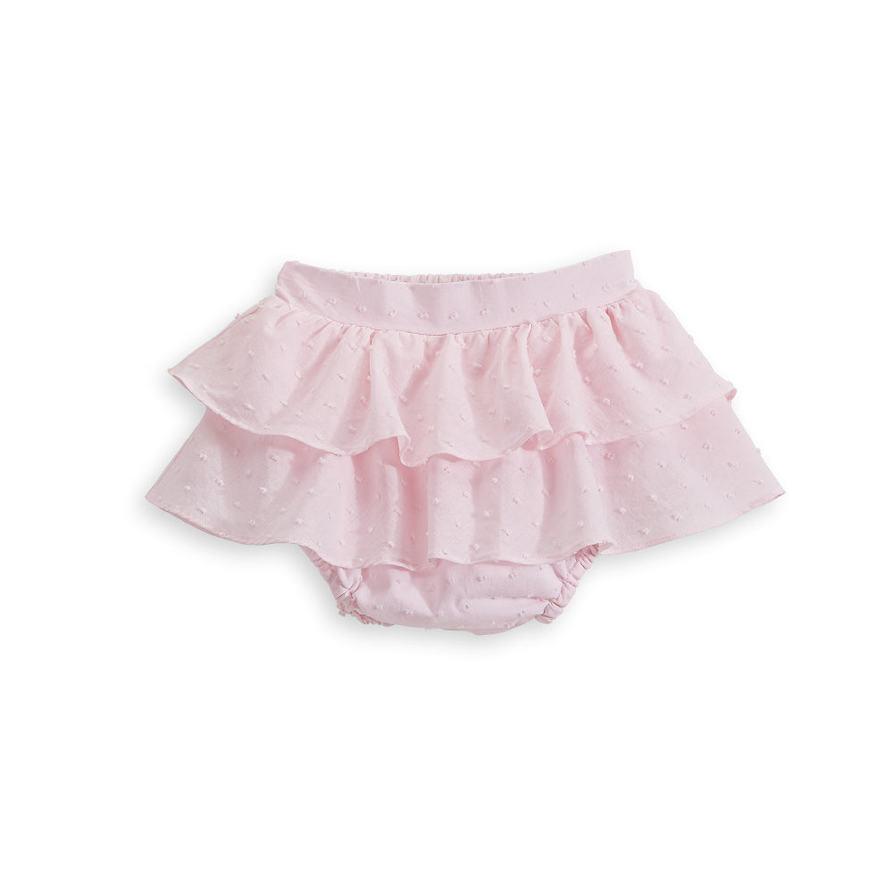Spring Ruffled Bloomer Skirt