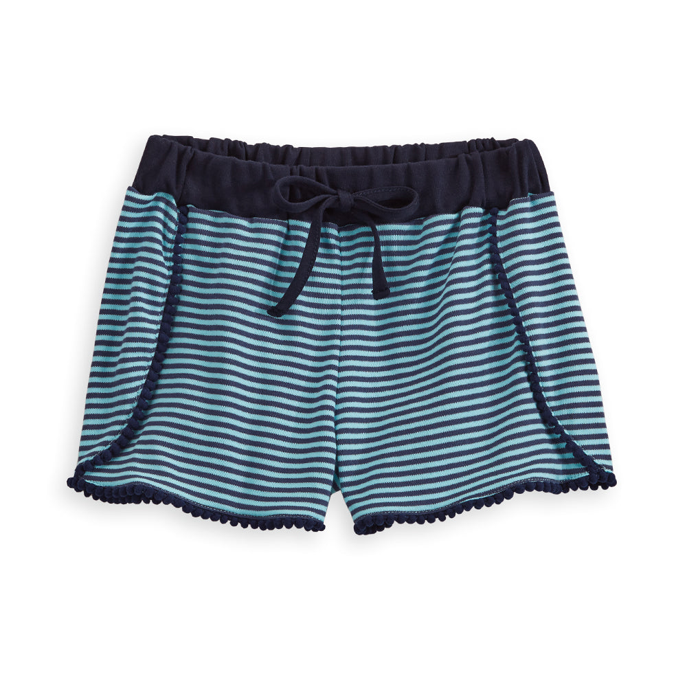 Striped Polly Pima Pom Pom Short (4103762772048)