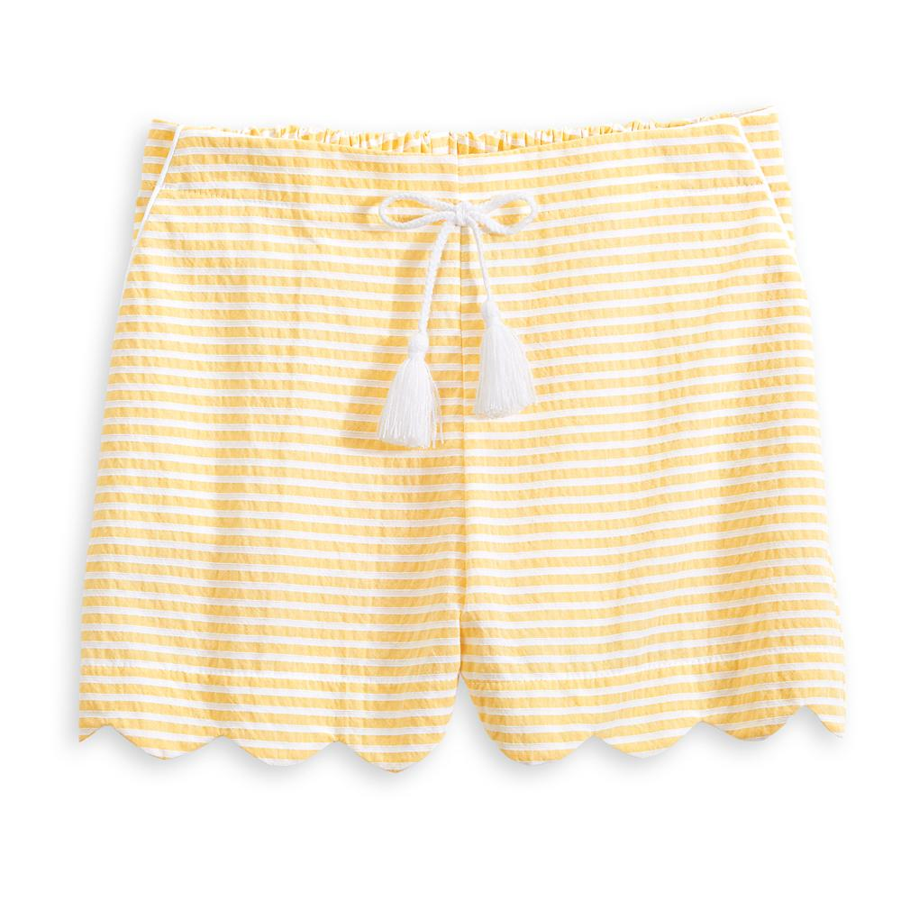 Women's Scalloped Bardot Short (4178485379152)