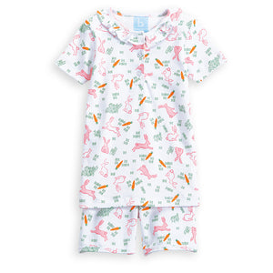 Ruffled Short Pima Jammies (4175122890832)