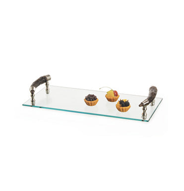 Bark Handle Serving Tray
