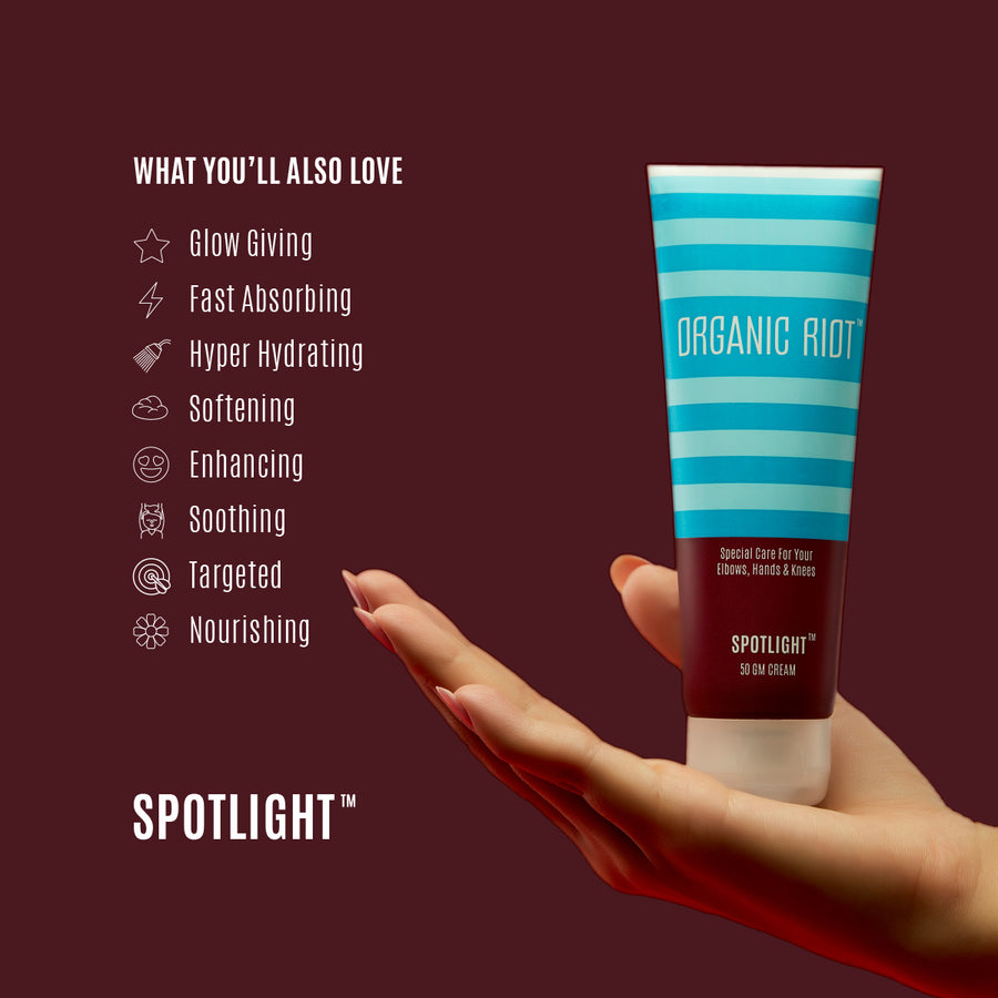 Organic Riot: Spotlight-Care for your dry & discoloured elbows & knees