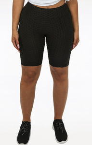 Ruched Detail Active Shorts