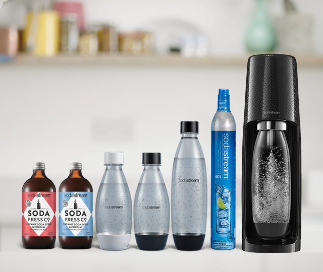 SodaStream Official UK Store: Sparkling Water Makers, Gas