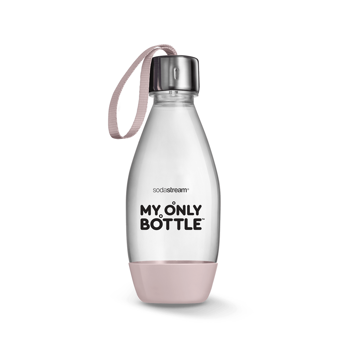 0.5L Pink Blush Dishwasher Safe My Only Bottle