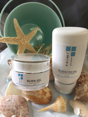 MOISTURIZING SUNSCREEN & BURN GEL DUO